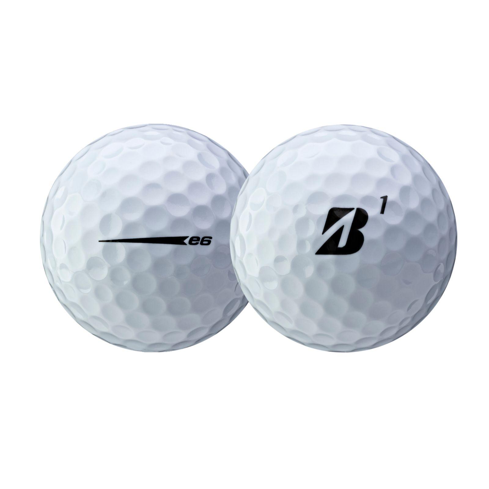 Bridgestone 2021 e6 White Golf Ball - Dozen