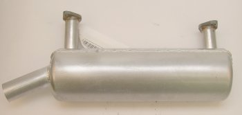Briggs-Stratton Engine Parts Left side muffler for horizontal  380400  381400  386400 Vanguard  21hp and 23hp
