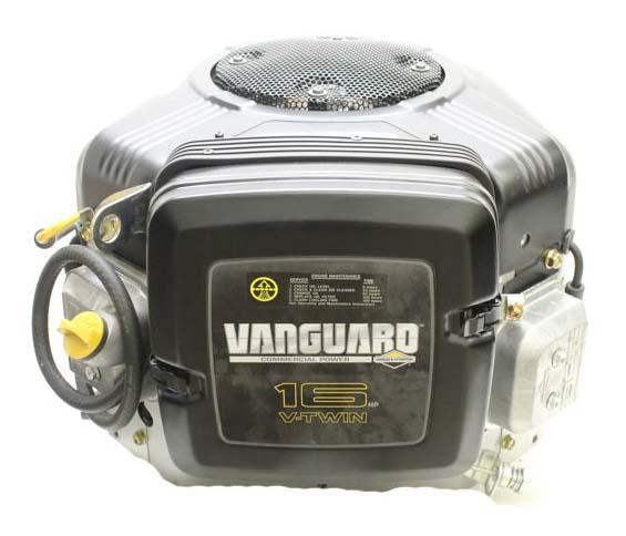"Briggs-Stratton Engine 16hp Vertical 1""x1-7/8"" Shaft  Vanguard OHV  V-Twin  Electric Start  No Alternator"