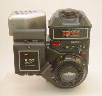 "Briggs-Stratton Engine 900 Series  Horizontal 3/4""x2-5/16"" Shaft  Intek IC OHV  Ball Bearing  Fuel Tank  Muffler"