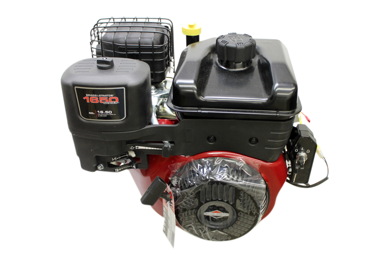 "25N137-0008 21.00 Gross Torque, (Approx 14hp) Horizontal 1""x3-21/64"" Shaft, Electric Start, 10 Amp Alt, �Dual Ball Bearings, LOS"
