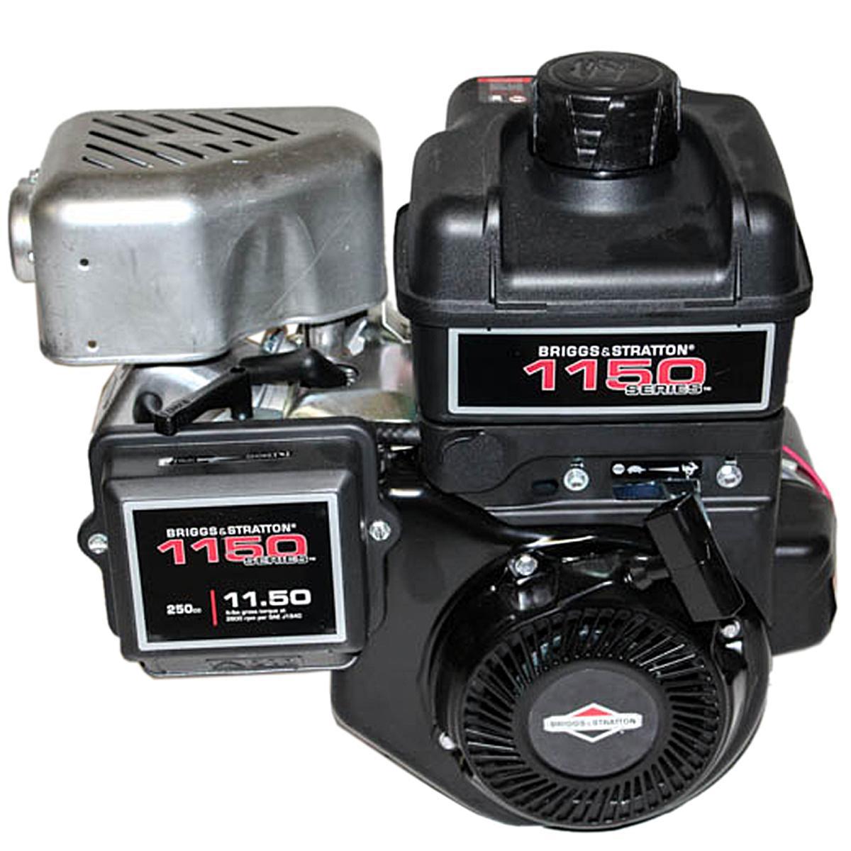 "1150 Series Horizontal 3/4"" x 1.457"" Shaft, Intek OHV, Electric & Recoil Start, Briggs & Stratton Engine"