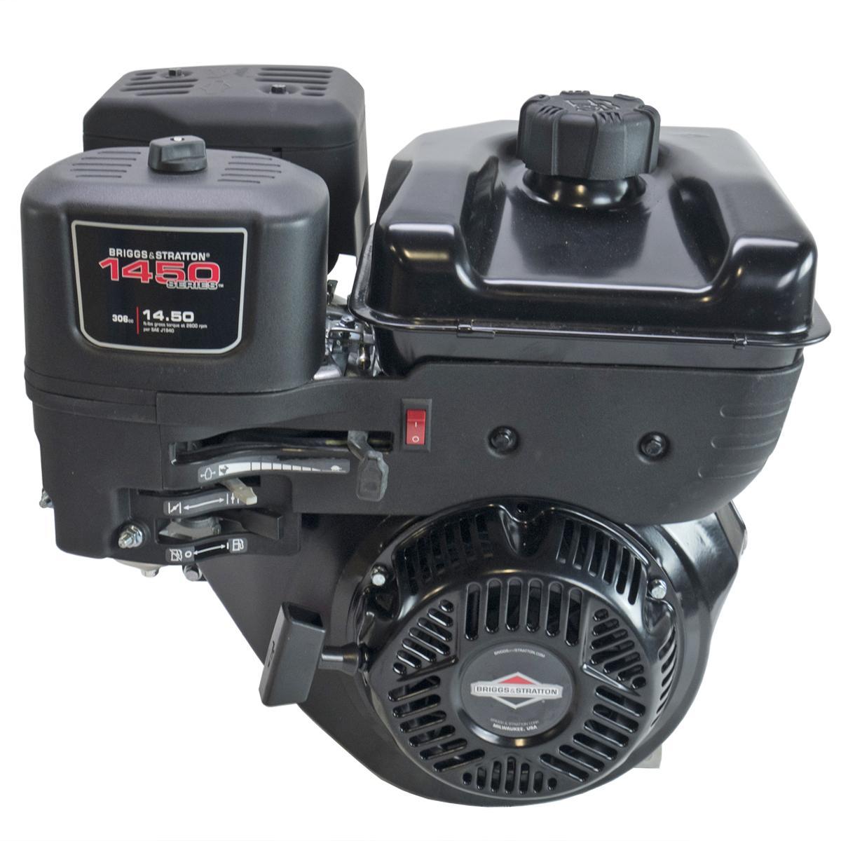"1450 XR Professional Series Horizontal 1""x 3-31/64"" Keyed Shaft, Recoil Start, Dual Ball Bearings, Briggs & Stratton Engine"