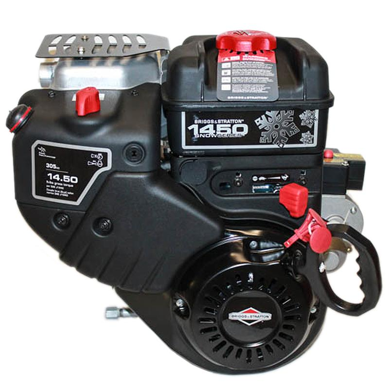 "1450 Series Snow Intek, Horizontal 3/4""x2-5/16"" Shaft, Recoil & Electric Start, 3 Amp Alt, Briggs & Stratton Engine"