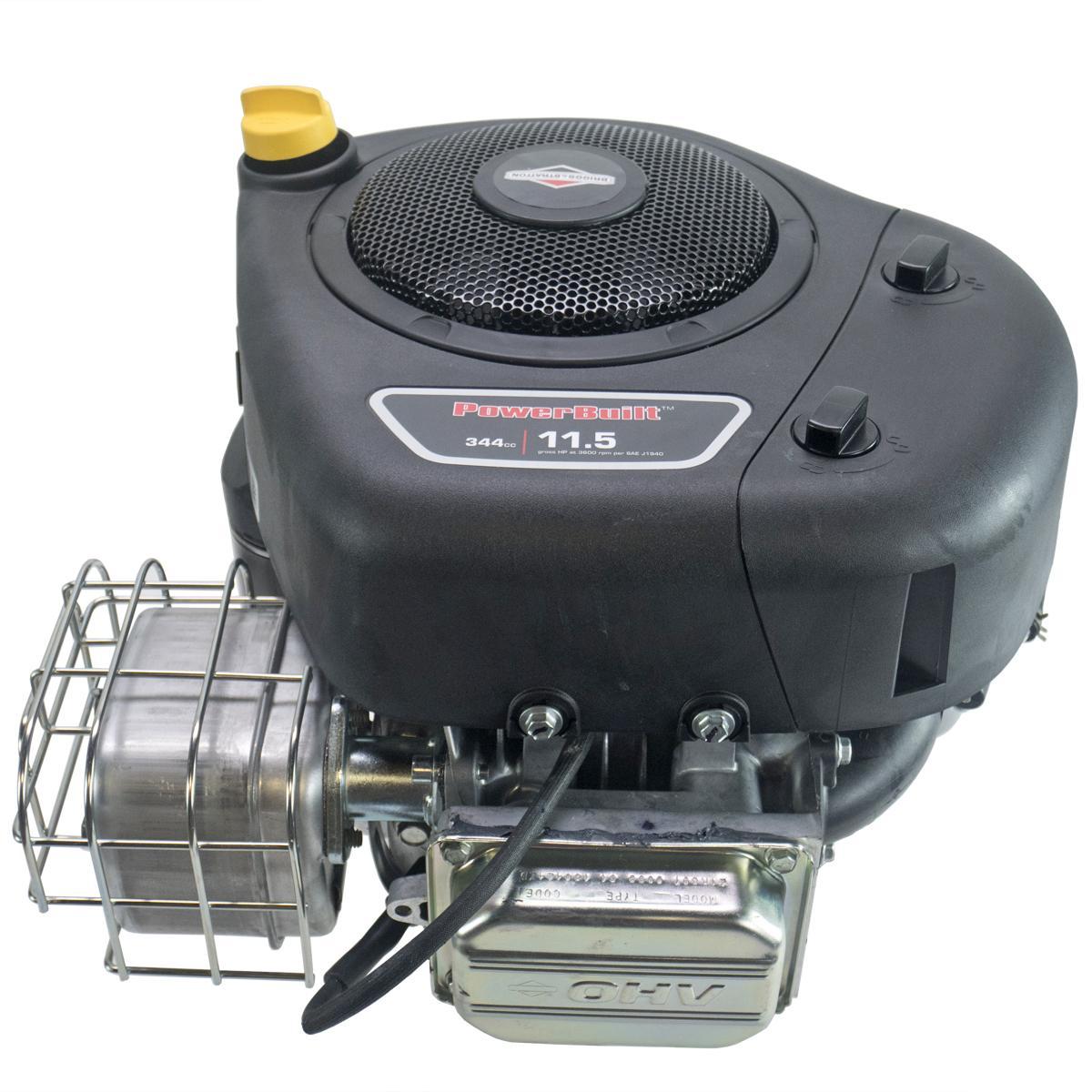 "11.5hp Vertical 1""x3-5/32"" Shaft, Intek OHV, Electric Start, 5/3Amp Alt, Muffler, Briggs   Stratton Engine"