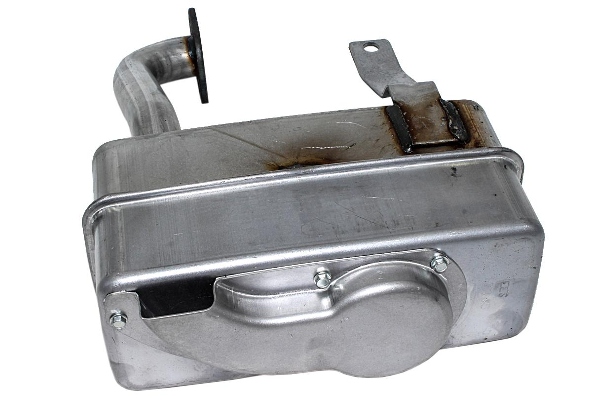 137352 low muffler for Briggs OHV 11-20hp single cylinder engines, fits AYP, Briggs and Stratton