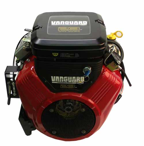 "386447-3079 23hp Vanguard, Horizontal 1"" x 2 29/32"" Shaft, Electric Start, FP, Oil Filter Cooler, Key Switch Briggs Stratton Eng"