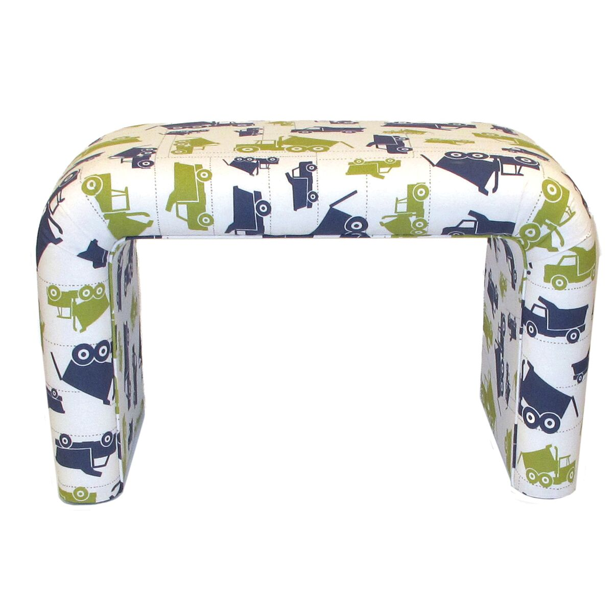 Brighton Home Furniture Dump Truck Cotton U Shaped Bed Bench