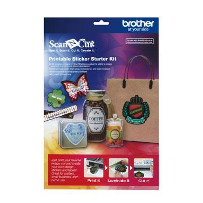 ScanNcut Printable Sticker Kit