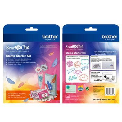ScanNcut Stamp Starter Kit