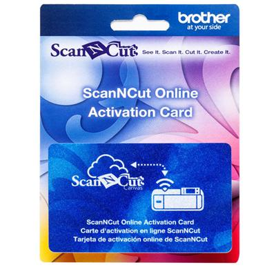 ScanNcut Wireless OnLine Act Card