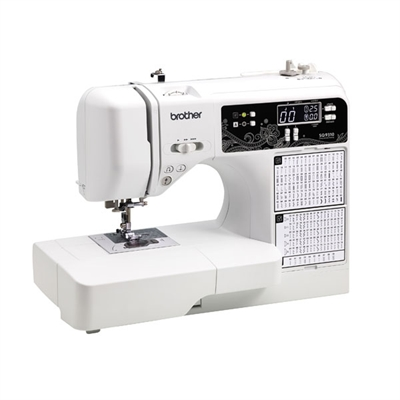 Comp Sewing Quilting Wht Blk