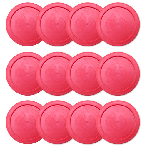 "One Dozen 2.5"" Air Hockey Pucks"