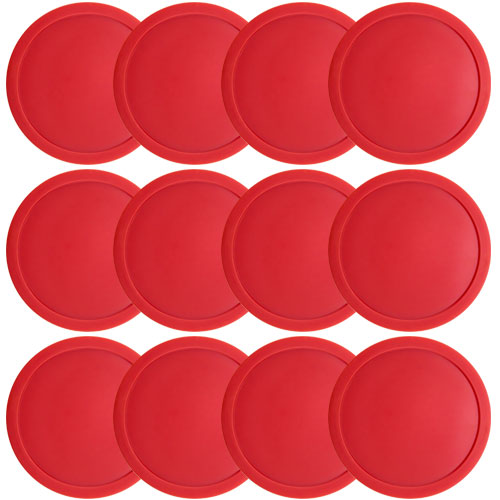 "One Dozen Air Hockey Pucks - 3 1/4"" in Diameter"