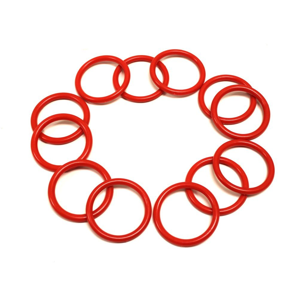 "12 Pack Small Ring Toss Rings with 2.125"" in Diameter"