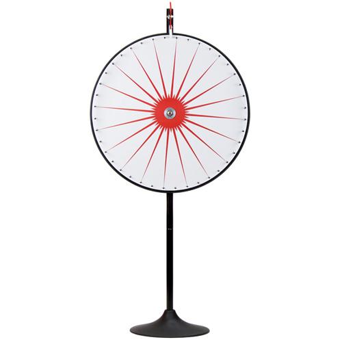 """36"""" Custom Dry Erase White Prize Wheel w/Extension Base"""