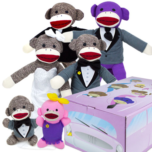 The Sock Monkey Family Limo