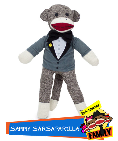 Sammy Sarsaparilla from The Sock Monkey Family