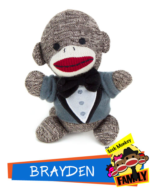 Brayden from The Sock Monkey Family