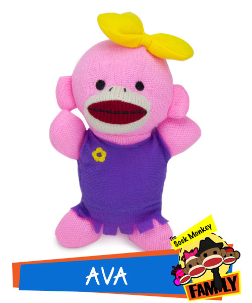 Ava from The Sock Monkey Family
