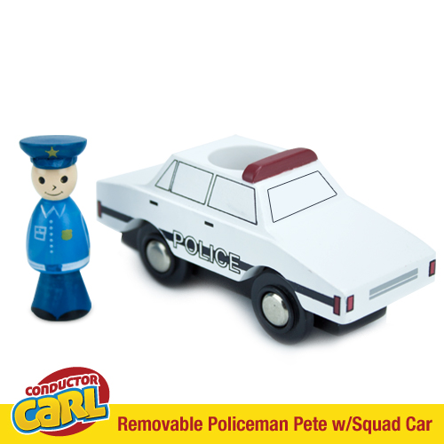 Policeman Pete Squad Car with Removable Character