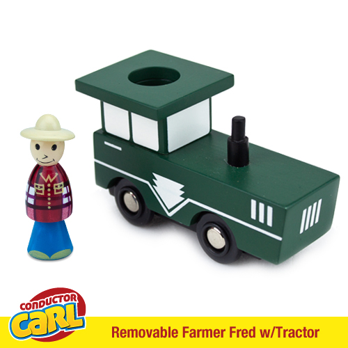 Farmer Fred Tractor with Removable Character