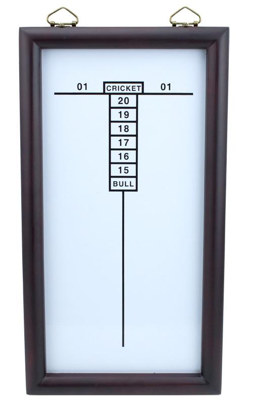 White Dry Erase Cricketeer Scoreboard