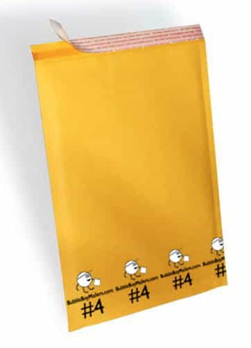 "(100) No. 4 BubbleBoy 9.5"" x 14.5"" Self-Seal Bubble Mailers"