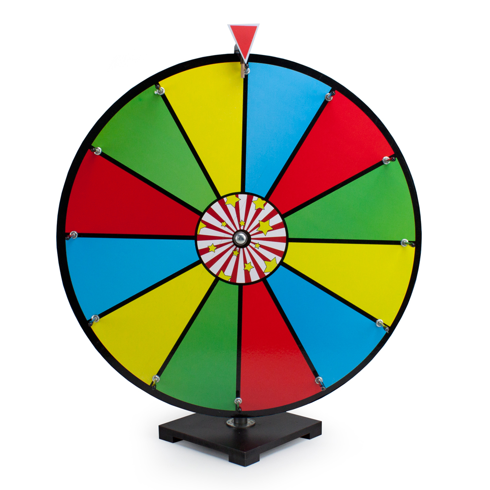 "24"" Color Dry Erase Prize Wheel"