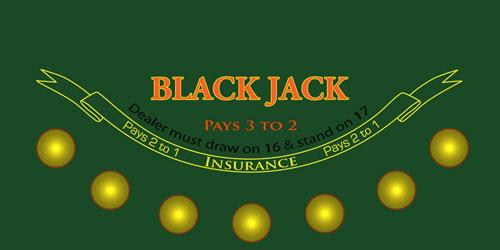 Blackjack Sublimation Felt