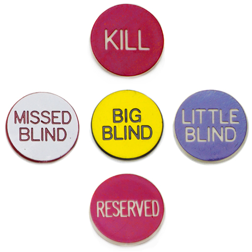 1'' Button Combo Pack (Little, Big, Kill, Miss, Reserve)