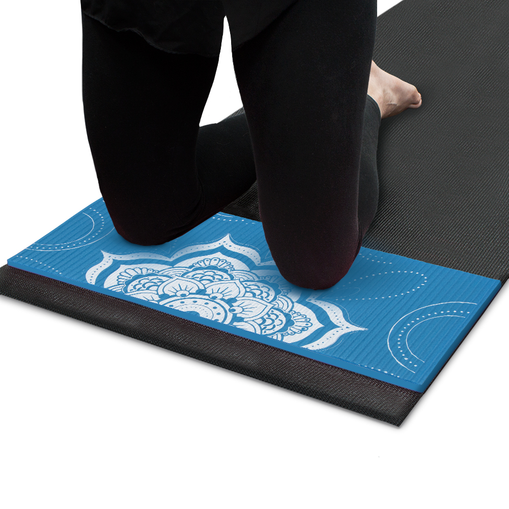 Chakra Art Yoga Knee Pad, Waterfall