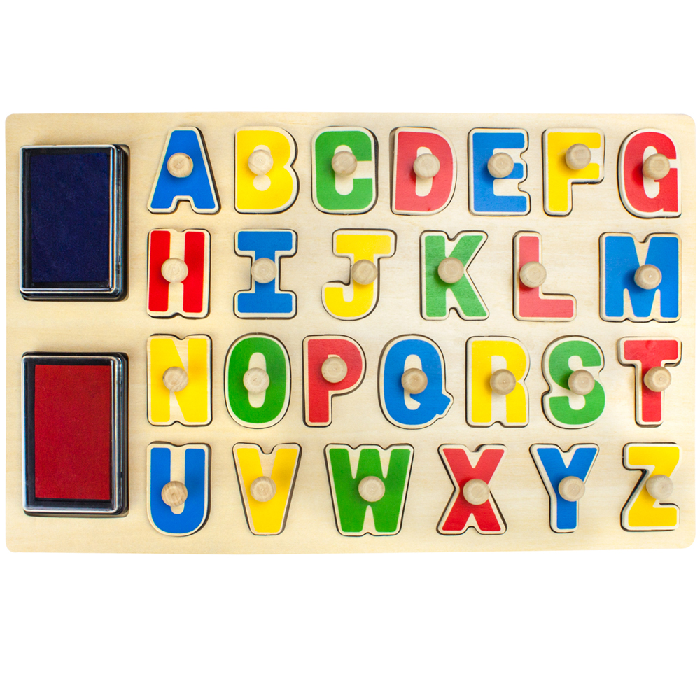 Puzzle Stampers XL Alphabet