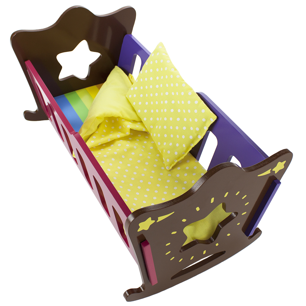 Star Bright Doll Cradle