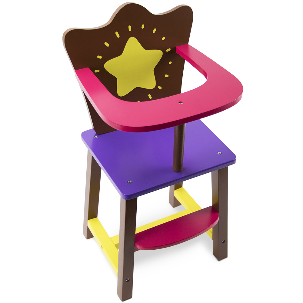 Star Bright Doll High Chair