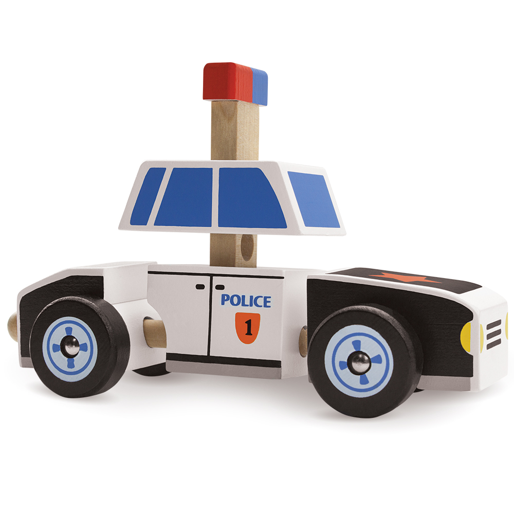 Put-It-Together Police Cruiser