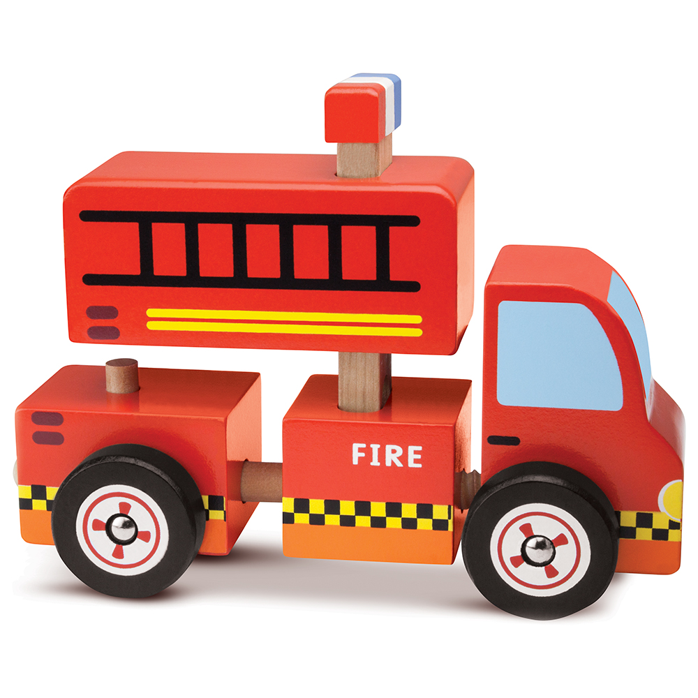 Put-It-Together Fire Engine