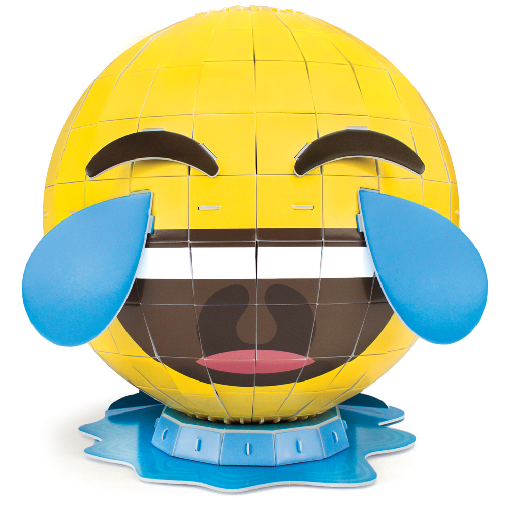 3D Foam Emoji Model, Waterworks