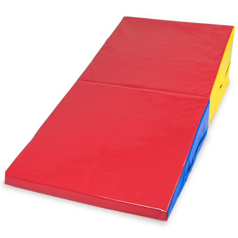 Medium Incline Cheese Wedge Mat, 59.25'' x 29.5'' x 14.75''