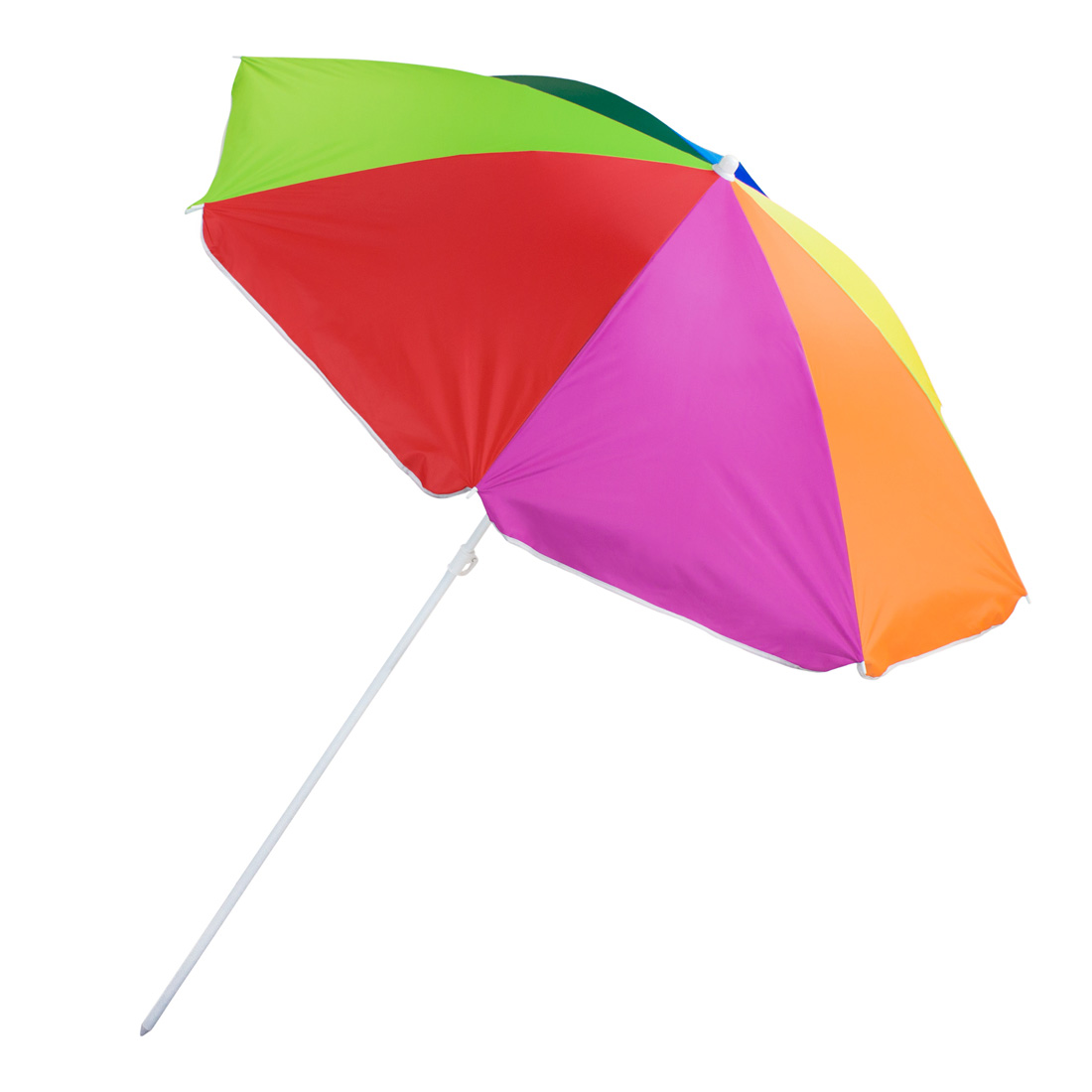 Rainbow Beach Umbrella, 8-foot