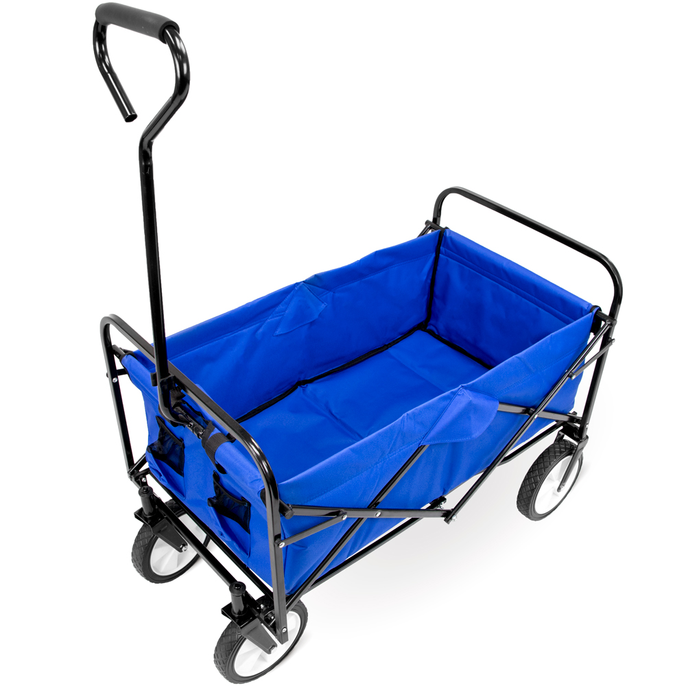 Collapsible Utility Wagon, Blue