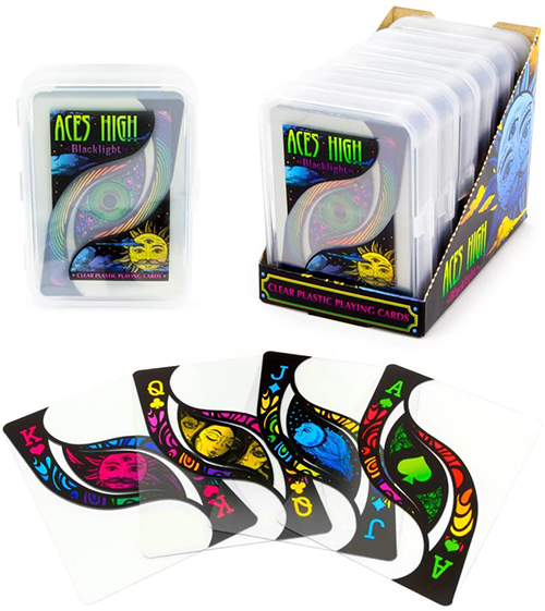 Aces High Blacklight, 6-Deck PDQ