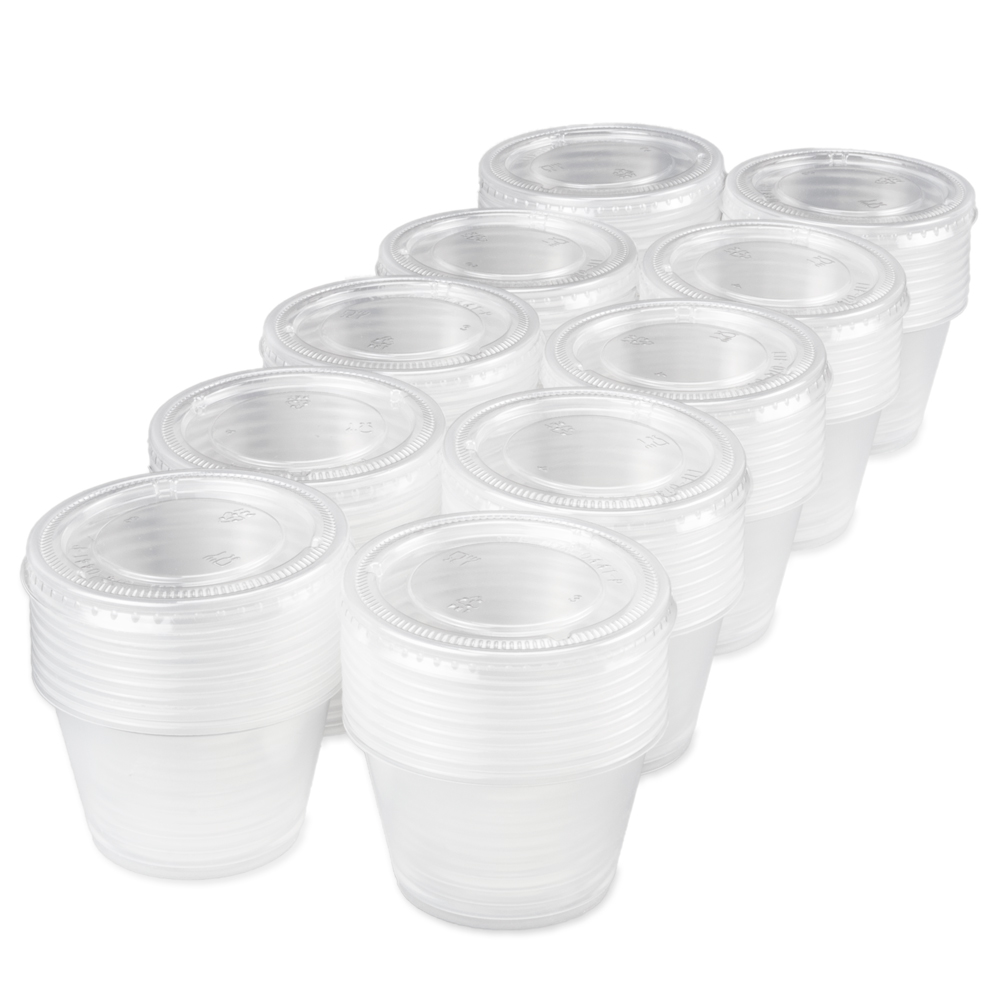 100-pack Condiment Dishes, 4 oz.