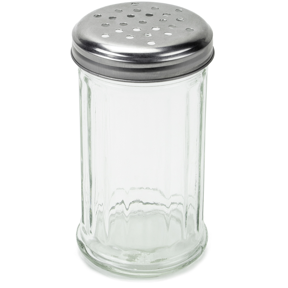 12 oz. Glass Cheese Shaker