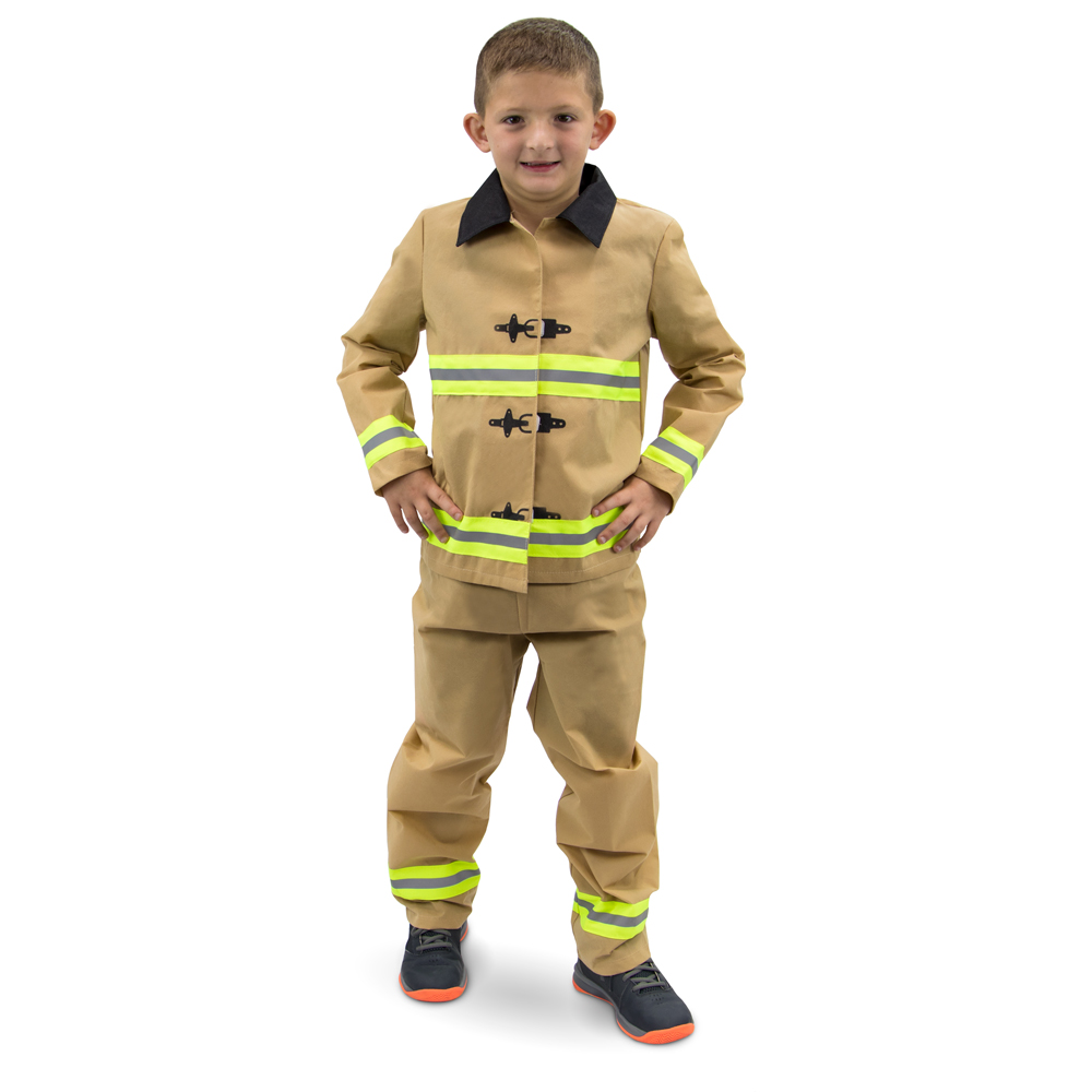 Fearless Firefighter Children's Costume, 3-4