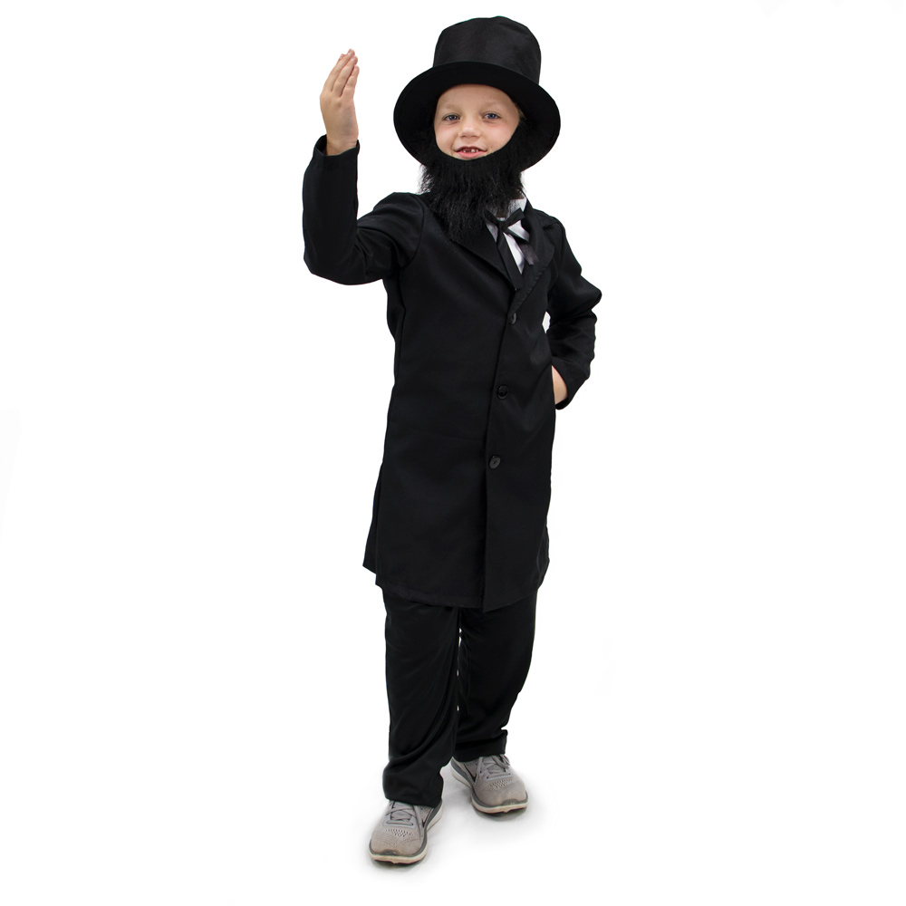 Honest Abe Lincoln Children's Costume, 7-9
