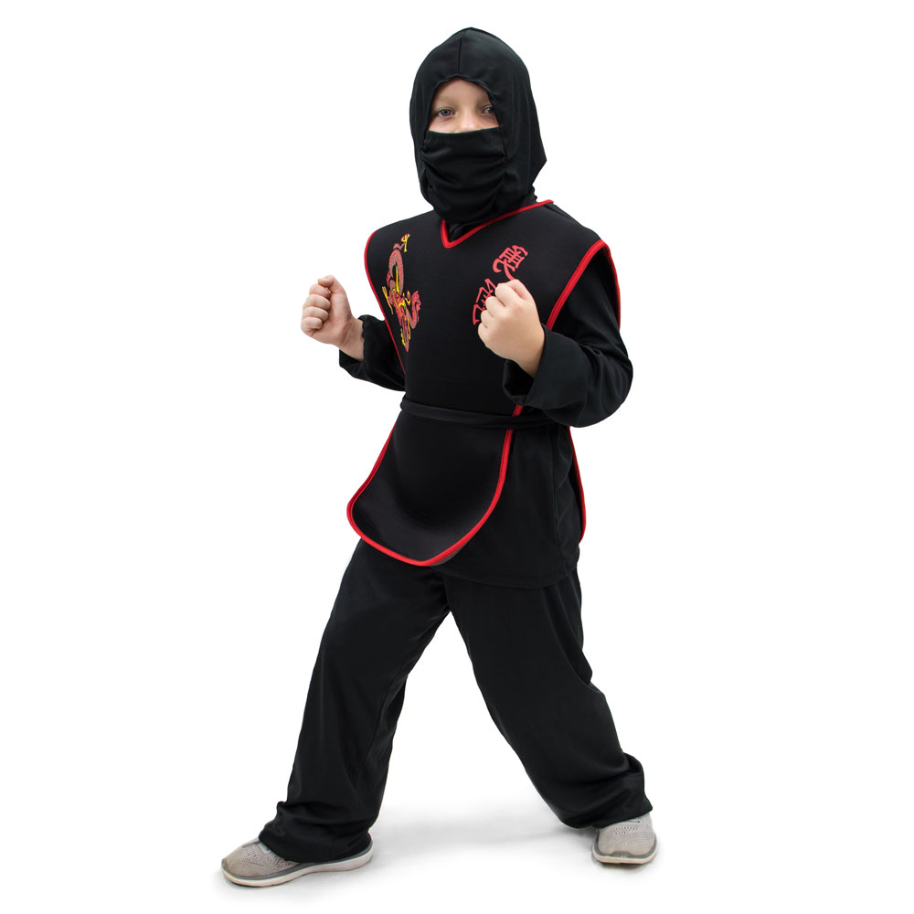 Sneaky Ninja Children's Costume, 10-12