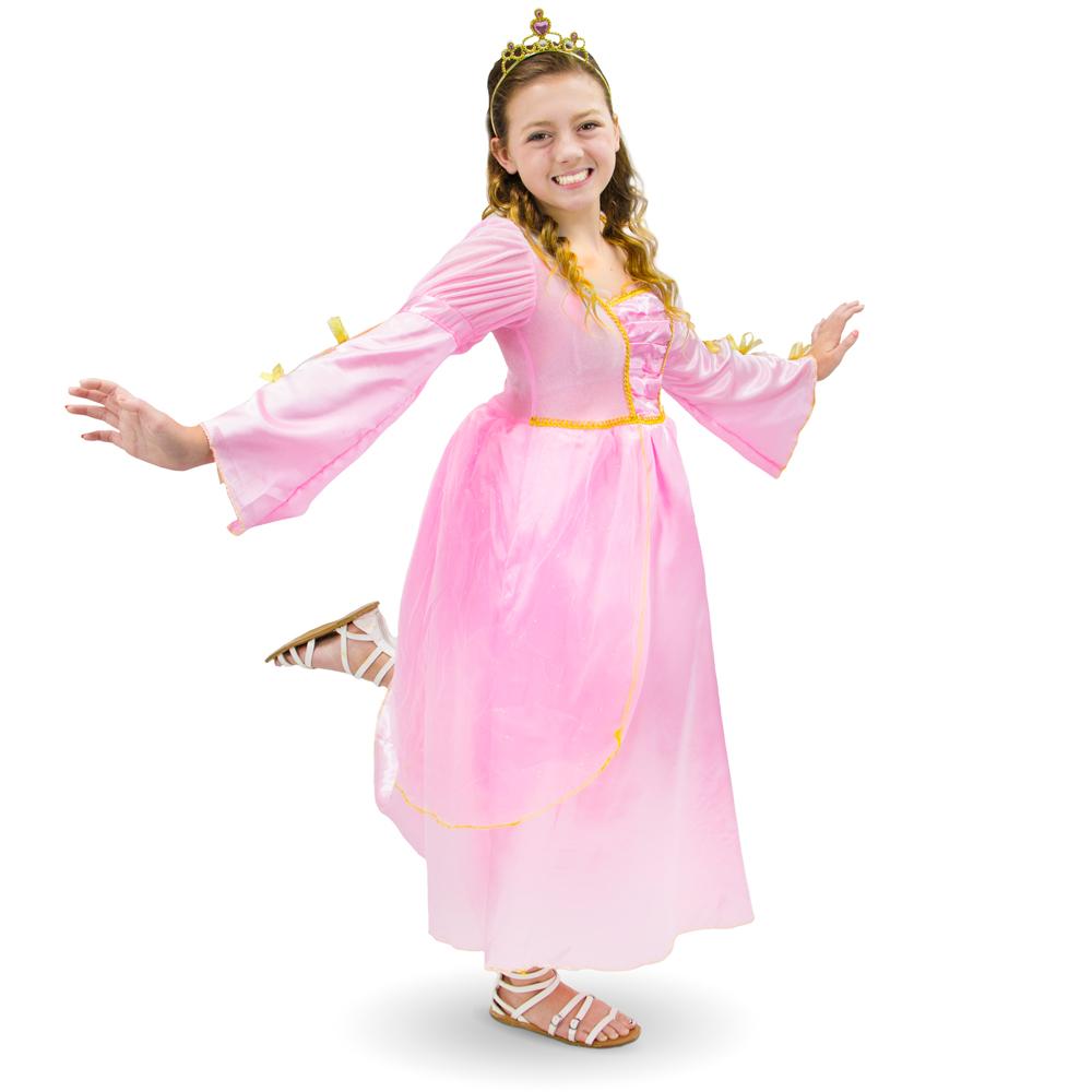 Pink Princess Children's Costume, 10-12