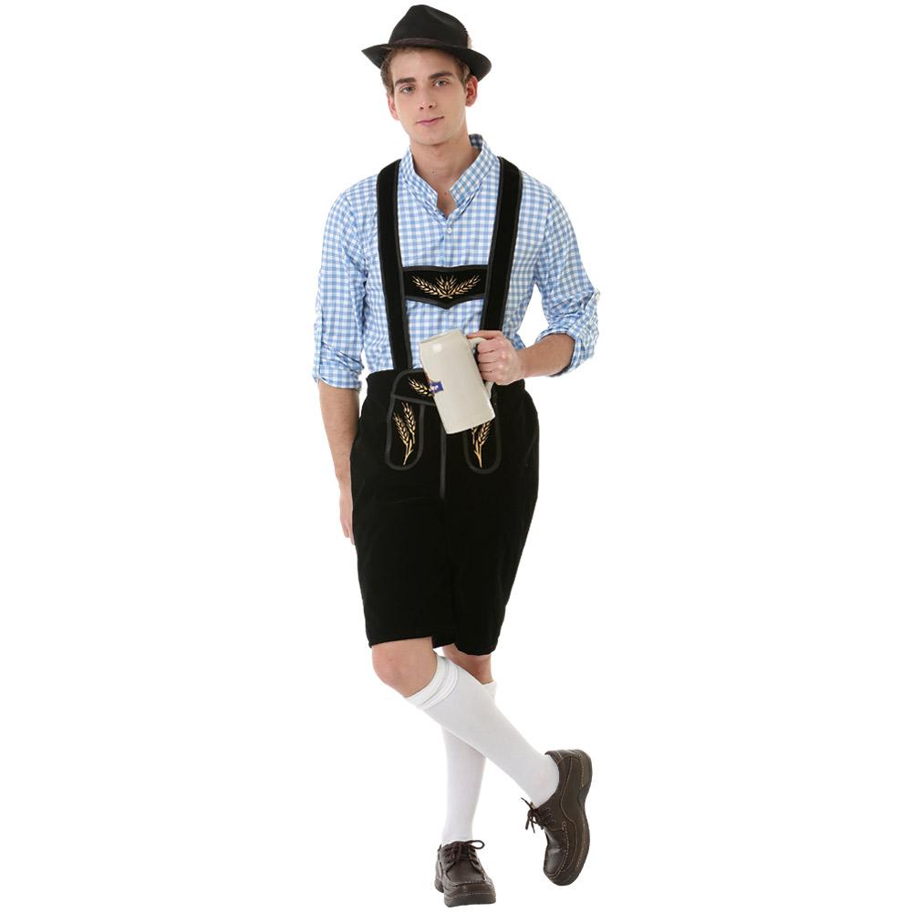 Boisterous Bavarian Adult Costume, M