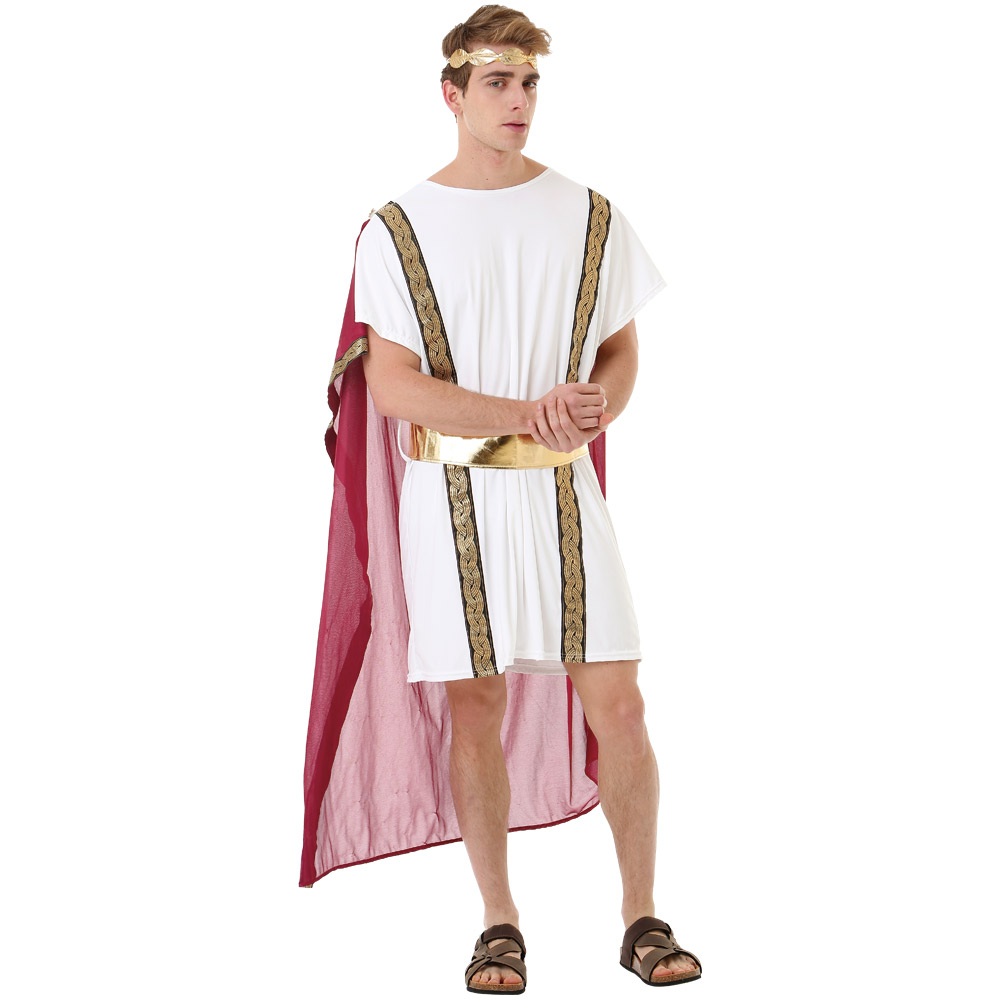 Roman Emperor Adult Costume, L